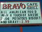 BRAVO CAFE  GRILL