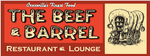 Beef and Barrel Restaurant  Lo